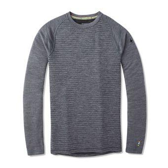 Smartwool MERINO 250 - Maglia termica Uomo pattern medium gray tick stitch