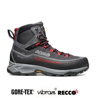 Asolo ARCTIC GV GTX - Chaussures randonnée Homme grey/gunmetal/red
