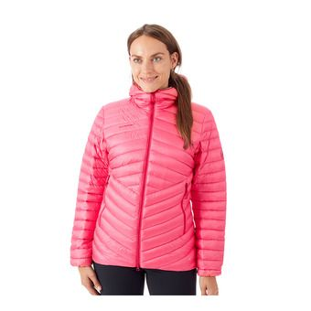 Mammut BROAD PEAK - Doudoune Femme dragon fruit/scooter