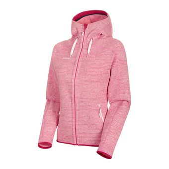 Mammut ARCTIC - Fleece - Women's - blush/dragon fruit marl