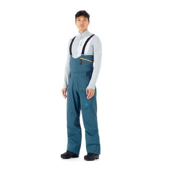 Mammut HALDIGRAT - Ski Pants - Men's - wing teal