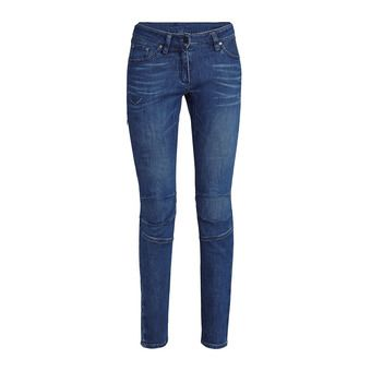 Salewa AGNER DENIM CO - Pantalon Femme jeans blue