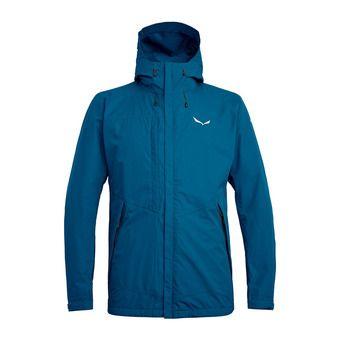 Salewa PUEZ CLASTIC PTX - Jacket - Men's - blue sapphire