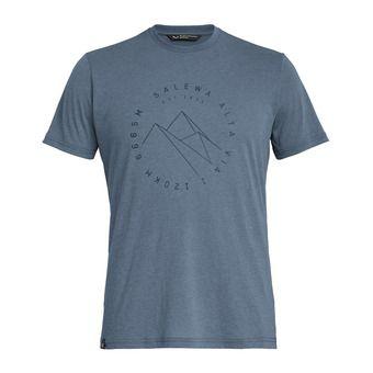 Salewa ALTA VIA DRI-REL - T-Shirt - Men's - flint stone melange