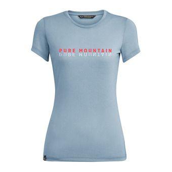 Salewa PURE M. DRI-REL - T-Shirt - Women's - blue fog melange