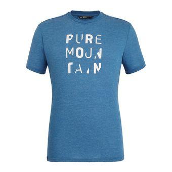 Salewa PURE M. DRI-REL - T-Shirt - Men's - poseidon melange