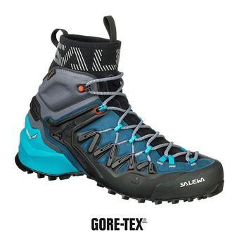 Salewa WILDFIRE EDGE MID GTX - Chaussures d'approche Femme poseidon/g