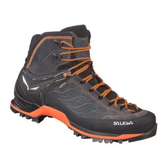 Salewa MTN TRAINER MID GTX - Trekking Shoes - Men's - asphalt/flu