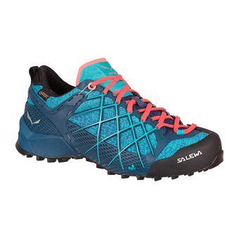 Salewa WILDFIRE GTX - Zapatillas de aproximación mujer poseidon/c
