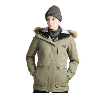 Billabong INTO THE FOREST - Chaqueta mujer olive
