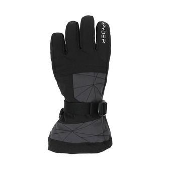 Spyder OVERWEB - Guantes de esquí junior ebony