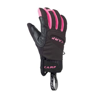 Camp G HOT DRY - Guantes mujer black/pink