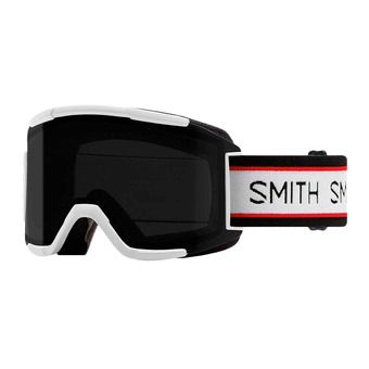 Smith SQUAD - Maschera da sci cp sun black /8s - yellow