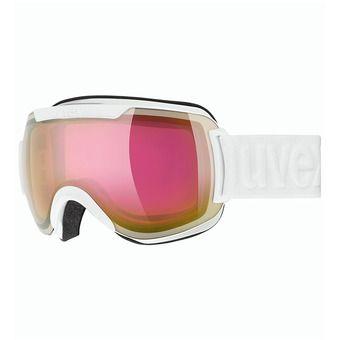 Uvex DOWNHILL 2000 FM - Gafas de esquí white/mirror pink