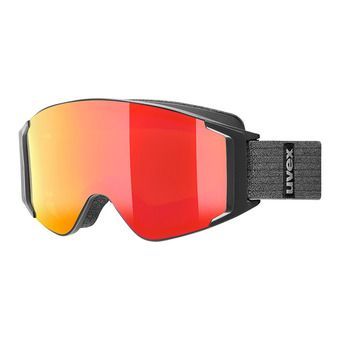 Uvex G.GL 3000 TO - Gafas de esquí black mat/mirror red + lasergold lite clear