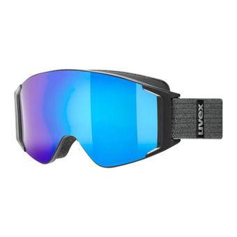 Uvex G.GL 3000 TO - Masque ski black mat/mirror blue + lasergold lite clear
