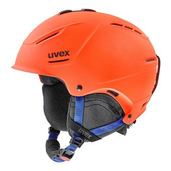 Uvex P1US 2.0 - Casco de esquí orange/blue mat
