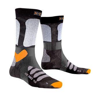 X-Socks X-COUNTRY RACE 4.0 - Chaussettes ski noir/gris