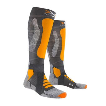 X-Socks TOURING SILVER 4.0 - Chaussettes ski anthracite/or