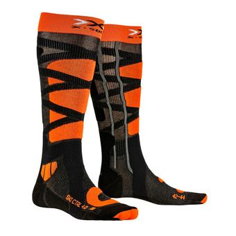 X-Socks CONTROL 4.0 - Chaussettes ski anthracite/or