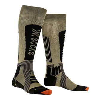X-Socks HELIXX GOLD 4.0 - Chaussettes ski golden/noir