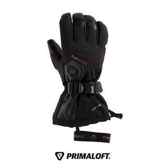 Therm-Ic ULTRA HEAT - Guantes calefactables hombre black + baterías