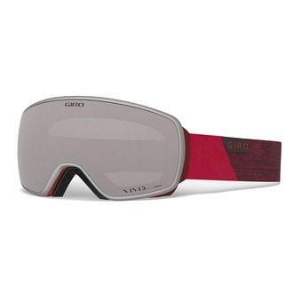 Giro AGENT - Gafas de esquí red peak vivid onyx