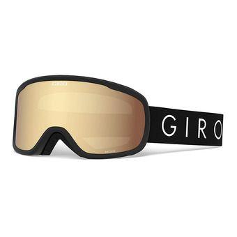 Giro MOXIE - Masque ski Femme black core light amber gold
