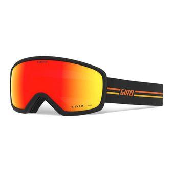Giro RINGO - Gafas de esquí gp black/orange vivid ember
