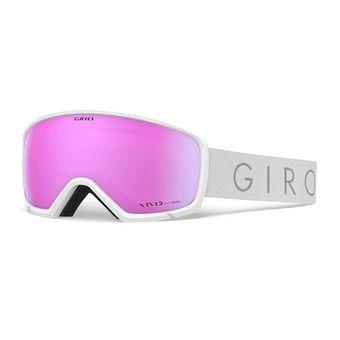 Giro RINGO - Gafas de esquí mujer white core light vivid pink