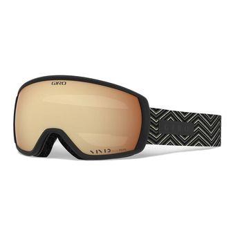 Giro FACET - Maschera da sci black zag vivid copper