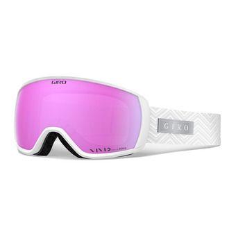 Giro FACET - Gafas de esquí mujer white zag vivid pink