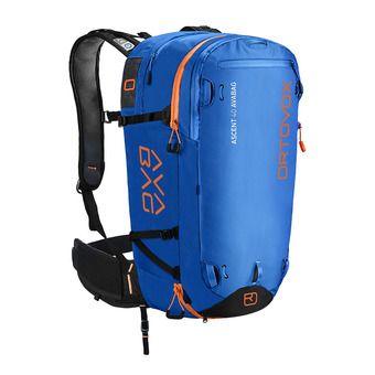Ortovox ASCENT AVABAG 40L - Mochila airbag safety blue