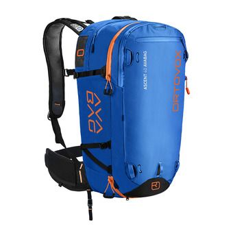 Ortovox ASCENT AVABAG 40L - Zaino airbag safety blue