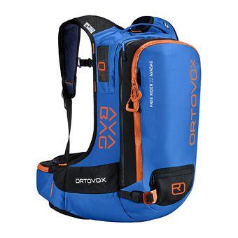 Ortovox FREE RIDER AVABAG 22L - Zaino airbag safety blue