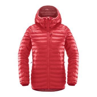 Haglofs CHILL MIMIC - Down Jacket - Women's - hibiscus red
