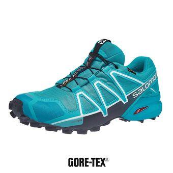 Salomon SPEEDCROSS 4 GTX - Chaussures trail Femme bluebord/icy morn/ebony
