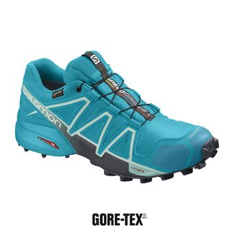 Salomon SPEEDCROSS 4 GTX - Chaussures trail Femme bluebord/icy morn/ebony