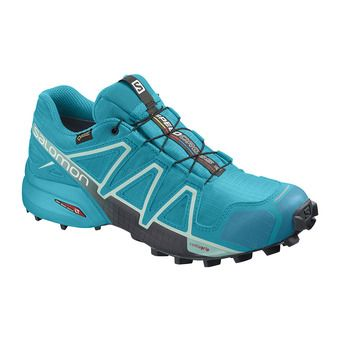 Salomon SPEEDCROSS 4 GTX - Chaussures trail Femme bluebird/icy morn/ebony