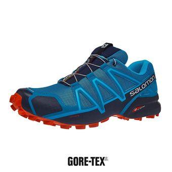 Salomon SPEEDCROSS 4 - Chaussures trail Homme fjord blue/navy blaz
