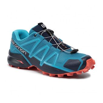 Salomon SPEEDCROSS 4 - Zapatillas de trail hombre fjord blue/navy blaz