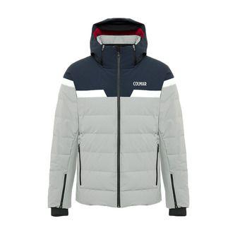 Colmar STELVIO - Doudoune ski Homme greystone/blue black