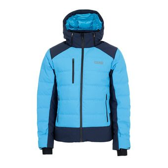 M. DOWN SKI JACKET Homme MIRAGE-BLUE BLACK1052-9RT-355