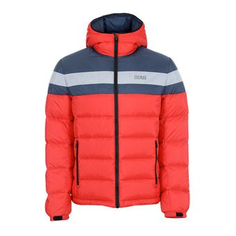 Colmar HOODED PUFFY DOWN - Doudoune Homme bright red/blue black