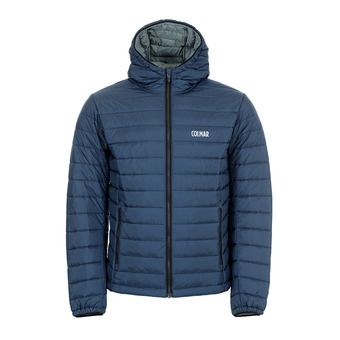 Colmar HOODED PRIMALOFT QUILTED - Anorak hombre blue black/greystone