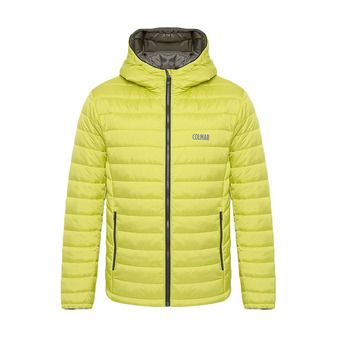 Colmar HOODED PRIMALOFT QUILTED - Anorak hombre lime/jungle