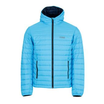 Colmar HOODED PRIMALOFT QUILTED - Anorak hombre mirage/blue black