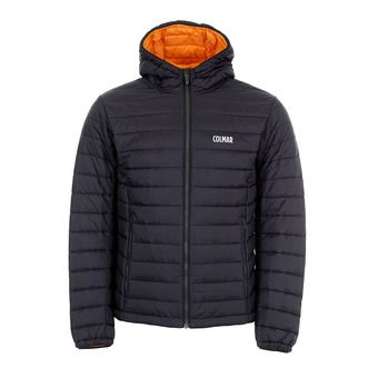 MENS SKI JACKET Homme BLACK-ORANGE POP1381-2RT-99