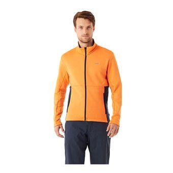 Colmar FULL ZIP STRETCH - Felpa Uomo orange pop/blue black