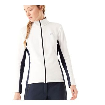 Colmar FULL ZIP STRETCH - Sweat Femme white/blue black